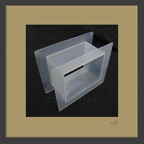 Flexible square silicone coupling